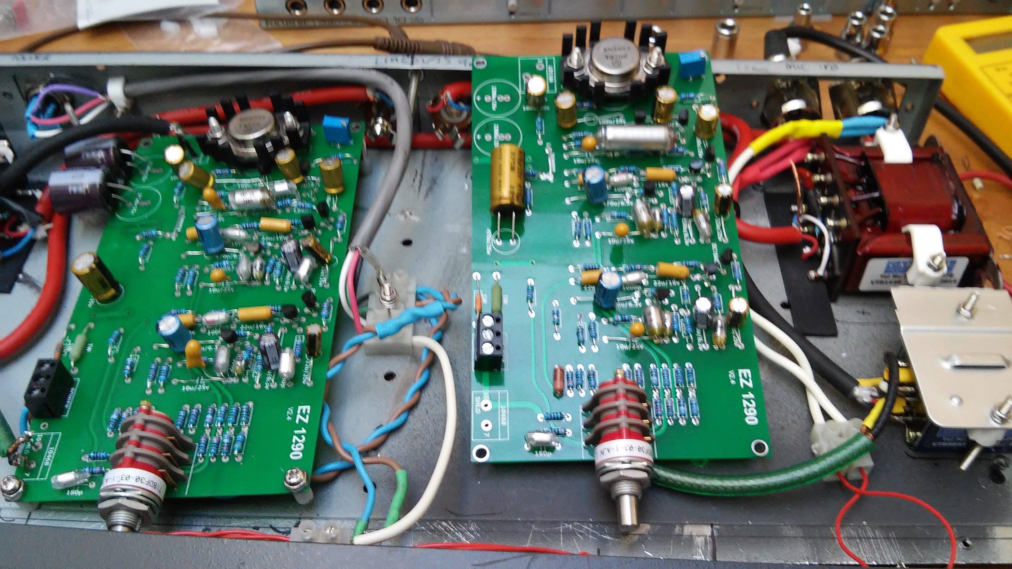 mic preamp – Wij Productions